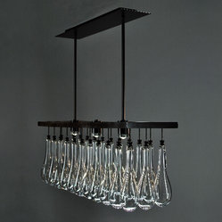 Solano Chandelier by Zia Priven