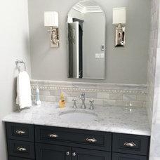 Traditional Bathroom by Veritas Contracting, LLC