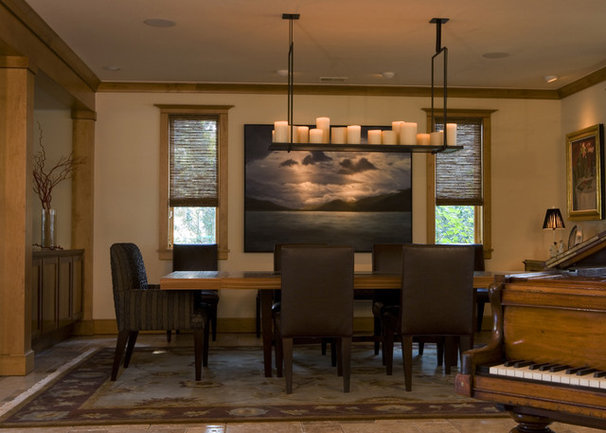 Contemporary Dining Room by Frederick + Frederick Architects
