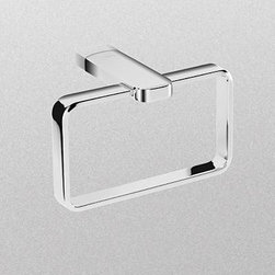TOTO - TOTO YR630#CP Upton Towel Ring, Polished Chrome - TOTO YR630#CP Upton Towel Ring, Polished Chrome When it comes to Toto, being just the newest and most advanced product has never been nor needed to be the primary focus. Toto's ideas start with the people, and discovering what they need and want to help them in their daily lives. The days of things being pretty just for pretty's sake are over. When it comes to Toto you will get it all. A beautiful design, with high quality parts, inside and out, that will last longer than you ever expected. Toto is the worldwide leader in plumbing, and although they are known for their Toilets and unique washlets, Toto carries everything from sinks and faucets, to bathroom accessories and urinals with flushometers. So whether it be a replacement toilet seat, a new bath tub or a whole new, higher efficiency money saving toilet, Toto has what you need, at a reasonable price. TOTO YR630#CP Upton Towel Ring,