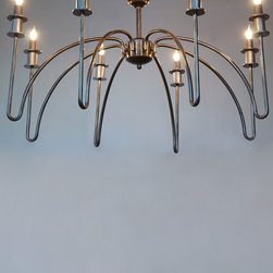 afton chandelier - view this item on our website for more information + purchasing availability: http://redinfred.com/shop/category/detail/lighting/afton-chandelier/