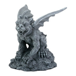 Summit - Gargoyle Erebus Wing Spread Statue Figurine Display - This gorgeous Gargoyle Erebus Wing Spread Statue Figurine Display has the finest details and highest quality you will find anywhere! Gargoyle Erebus Wing Spread Statue Figurine Display is truly remarkable.