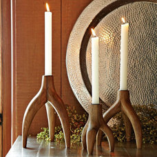 contemporary candles and candle holders by West Elm
