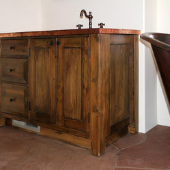 San Miguel Build - The Bath, the Laundry and a Mantel