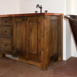 San Miguel Build - The Bath, the Laundry and a Mantel -