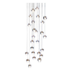 Bocci 14 Series Twenty-Six LED Pendant Chandelier