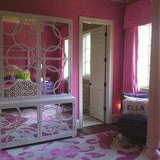 Eclectic Bedroom by Bryan Alan Kirkland Designs