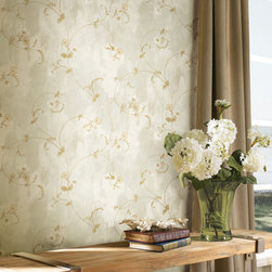 Artiste by Chesapeake - A luxurious traditional wallpaper with the charm of an Italian villa