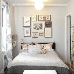 eclectic  Small Bedroom Inspiration | Apartment Therapy New York