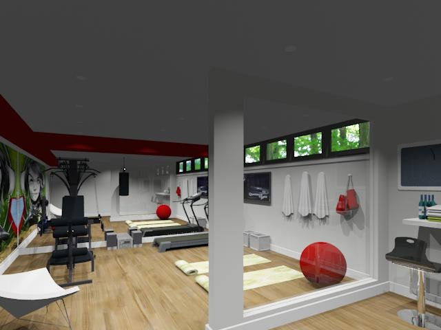 Home Gym by NathalieTremblay - Atelier Cachet