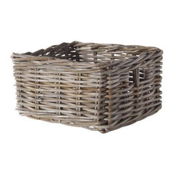 IKEA of Sweden - Byholma Basket, Gray - If you need lots of storage, you'll need lots of stylish baskets. Most everything looks better when collected in a pretty basket.