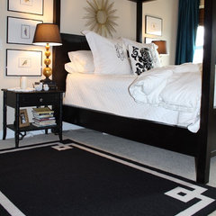 contemporary bedroom by Emily A. Clark