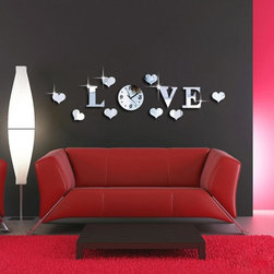 Musical Note Wall Clock - Package Include: