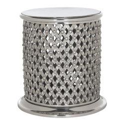 Safavieh - Metal Lace Table Stool - Metal Lace Table Stool