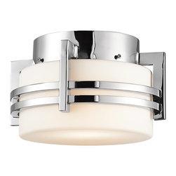 Kichler Lighting - Kichler Lighting 9557PSS316 Pacific Edge Modern / Contemporary Outdoor Flush Mou - Kichler Lighting 9557PSS316 Pacific Edge Modern / Contemporary Outdoor Flush Mount Ceiling Light