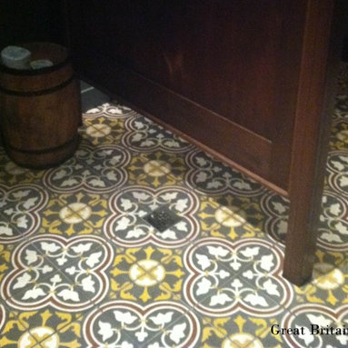 Cement Tile - Installed Patterns -