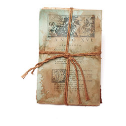 Go Home - Recycled Book Bundle - Stunning Recycled Book Bundle is handmade in the USA. Place the collected written works among your library collection, upon a nightstand, or atop an occasional table in a sun room.Book sizes may slightly vary.