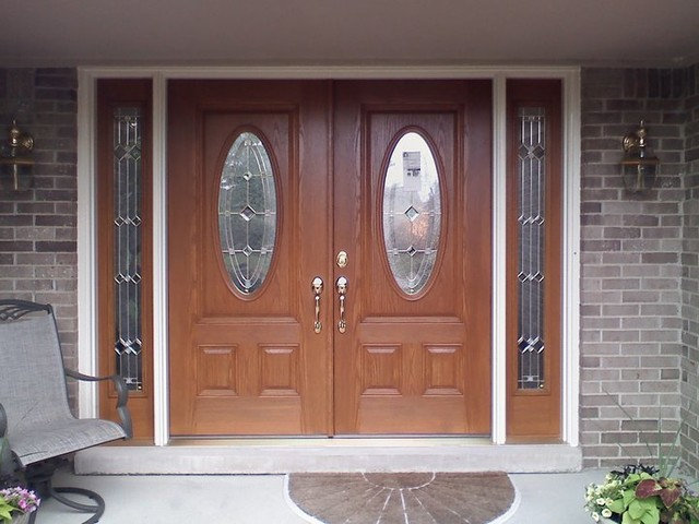 Modern Front Doors by CURB APPEAL DOOR & WINDOW INC