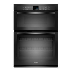 "Whirlpool - WOC54EC0AB 30"" Single Electric Wall Oven With 5.0 Cu. Ft. Self-Cleaning  Microwa - The Whirlpool WOC54EC0A features am amazing64 Cu Ft total capacityThe main oven has a 50 Cu Ft capacity and the microwave oven has a 14 Cu Ft capacity This Combination Microwave Wall Oven will satisfy all fo your cooking needs With SteamClean cleanin..."