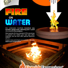 Contemporary Firepits by CJ's Home Decor & Fireplaces