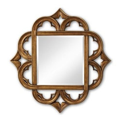 Carolyn Antique Gold Mirror - 52 diam. in. - About Murray FeissMurray Feiss prides itself as the foremost designer and manufacturer of interior and exterior lighting and home décor in the industry. Founded three generations ago, Murray Feiss features an award-winning in-house design team that includes industrial, graphic, and interior designers, all working in conjunction with engineers, draftsmen, color forecasters, and quality control experts to bring you only the finest in home lighting solutions. At the Murray Feiss factories, over 3,800 skilled artisans go to work bringing the creations to life, meticulously hand-finishing and quality-testing each fixture to ensure you receive a top quality product. With pride in their past and a commitment to the future, Murray Feiss offers more than just expertise: they offer a promise of great value and affordability. Bring home beautiful lighting you can believe in with a Murray Feiss fixture.