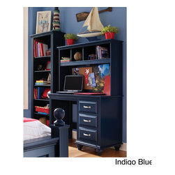 Lang Furniture - Lang Furniture Lighted Desk Hutch - Versatility is the buzzword.  Timeless,classic design,made kid- tough and available in FIVE engaging colors.  PERFECT for your child!