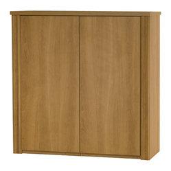 """Bestar - Bestar Embassy 36"""" 2-Door Cabinet in Cappuccino Cherry - Bestar - Storage Cabinets ..."""