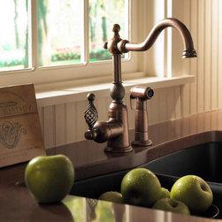 Danze Bordeaux Single Handle Faucet with spray -