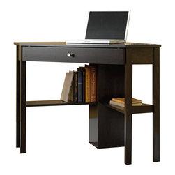 Sauder - Sauder Corner Computer Desk in Cinnamon Cherry Finish - Sauder - Computer Desks - 412003