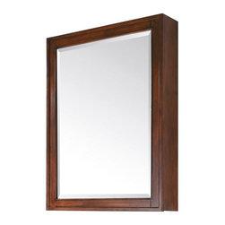 "Avanity - Avanity Madison 28 Mirror Cabinet, Tobacco (MADISON-MC28-TO) - Avanity MADISON-MC28-TO Madison 28"" Mirror Cabinet, Tobacco"