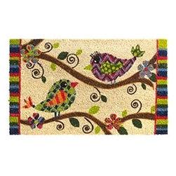 Love Birds Doormat - This lovebird doormat will welcome your guests in such a sweet way.