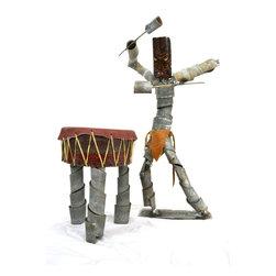 Tiki Drummer Wine Bot -