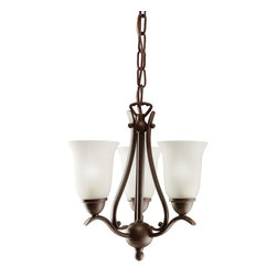 Kichler - Kichler Dover Three Light Tannery Bronze Up Pendant - 1731TZ - This Three Light Up Pendant is part of the Dover Collection and has a Tannery Bronze Finish.