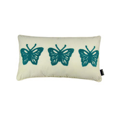 Butterflies 12X22 Pillow (Indoor/Outdoor) - 100% polyester cover and fill.  Imported.  Spot clean only