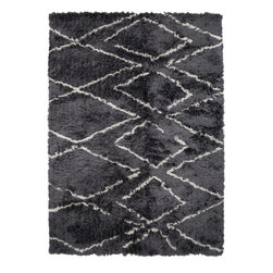 Surya - Surya Scout SCO-3004 (Charcoal) 8' x 10' Rug - This Hand Tufted rug would make a great addition to any room in the house. The plush feel and durability of this rug will make it a must for your home. Free Shipping - Quick Delivery - Satisfaction Guaranteed