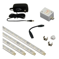 Jesco Kit-S601-12-30-A Under Cabinet Light Kit - Jesco KIT-S601-12-30-A Under Cabinet Light Kit