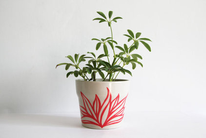 Contemporary Indoor Pots And Planters by Etsy