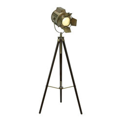 "Benzara - Wood Tripod Spot Light with Metal Fixtures - Wood Tripod Spot Light with Metal Fixtures. Achieve your desired lighting effect in any location with this powerful and efficient tripod spotlight. It comes with the following dimensions 28""W x 28""D x 66""H. 16""W x 14""D x 14""H."