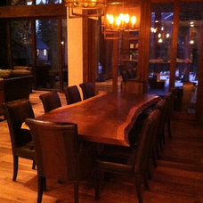 Rustic Dining Tables by Finishing Touch Carpentry