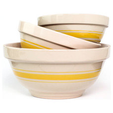 Transitional Mixing Bowls by Edgar B. Ross, FAIA, Architect