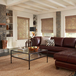 Woven Wood Shades - Castle Shutters