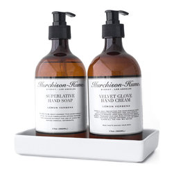 Murchison-Hume - Murchison-Hume  Lemon Verbena Hand Care Set - Our Lemon Verbena scent is more enticing than a straightforward Citrus. The clean + classic zing of Lemon Verbena finds harmony with a blend of fresh herbs.