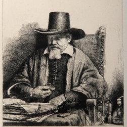 Rembrandt van Rijn, Portrait du Docteur Petrus Van Tol (B284), Heliogravure - Artist:  Rembrandt van Rijn, After by Amand Durand, Dutch (1606 - 1669)