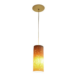 Lightexture - Seedlamp Pendant - LED Lighting, Barley and Quinoa - The Porcelain Seedlamp is made of thin porcelain and voided traces of rice or barley and quinoa seeds that were embedded within the porcelain prior to firing.