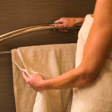 Contemporary Towel Bars And Hooks by Invisia
