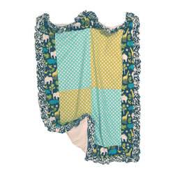 Persnickety Baby Bedding - Gus Crib Quilt - Gus Crib Quilt