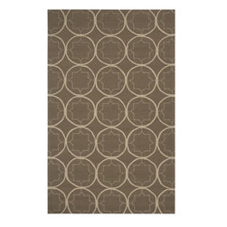Surya - Surya Indoor/Outdoor Rain Gray Sage-Stone 9'x12' Rectangle Area Rug - The Rain area rug Collection offers an affordable assortment of Indoor/Outdoor stylings. Rain features a blend of natural Gray Sage-Stone color. Hand Hooked of 100% Polypropylene the Rain Collection is an intriguing compliment to any decor.