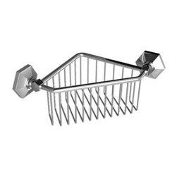 Lefroy_Brooks - Lefroy Brooks - Mackintosh Corner Basket - M1-5402-CP - Polished Chrome Finish
