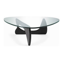 Fine Mod Imports - Tribeca Coffee Table, Black - Features:
