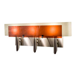 WPT Design - WPT Design Dessy3 AM/CVSN  Stainless Steel Wall Sconce - WPT Design Dessy3 AM/CVSN Dessy 3 Stainless Steel Wall Sconce